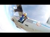 Алевтина. Прыжок с парашютом.