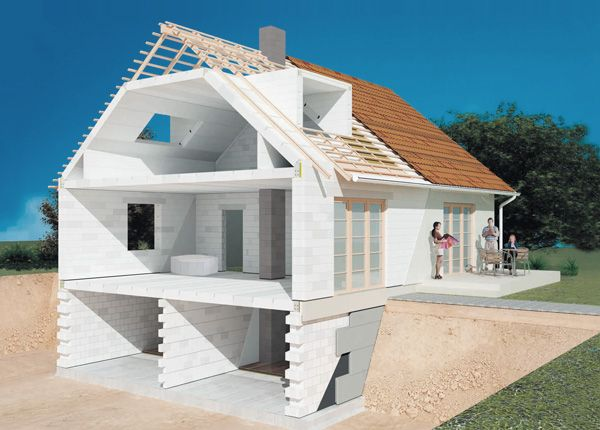 Проекты домов из газоблока своими руками