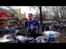 COOP3RDRUMM3R in NYC! New York City w/ the GSU Marching Band!