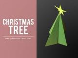 Paper Art Tutorial X-mas Tree  Free Style