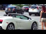 Picking Up Women in a Lamborghini (Gold Digger Prank) Picking Up Girls - Picking Up Women in Public