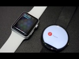 Apple Watch (Siri) vs Moto 360 (Google). Голос!