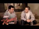 Briefcase Joe Eminem Teaches Jimmy Kimmel to Rap