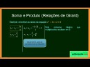 ENEM - Matemática Zero 2.0 - Aula 22 - Equações do Segundo Grau - (parte 1 de 2)