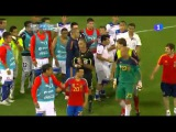 Spain 3 - Chile 2 . Fight Between Players