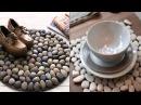 Как украсить дом камнями Идеи декора и украшения камнями для дома Стиль Жизни Идеи для творчества