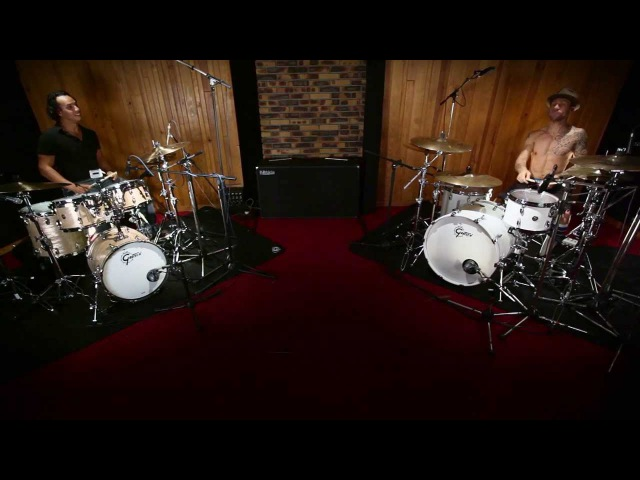 Gretsch Drums - Jazz vs Metal 2 - avec Pierre Belleville Davy Honnet