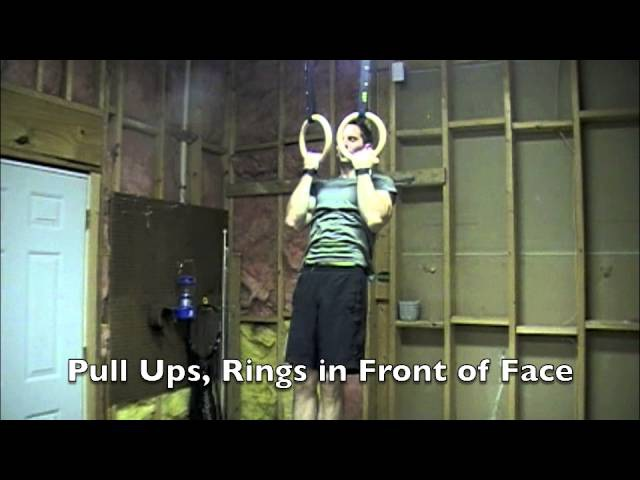 80 Strength Exercises for your Home Gymnastics Rings