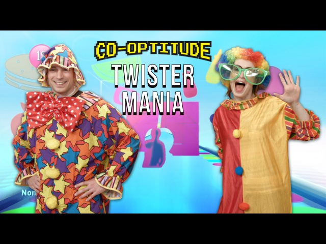 Let's Play TWISTER MANIA on Xbox One! Co-optitude with Ryon Felicia Day