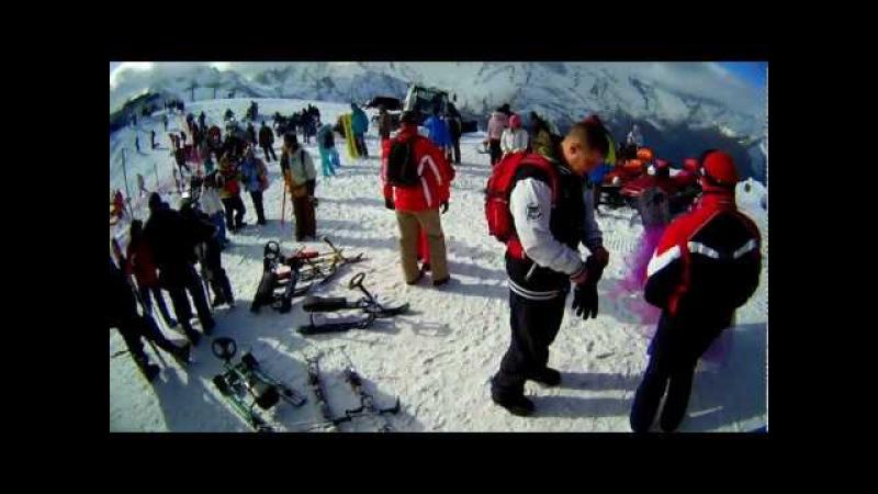Домбай .Открытие зимнего горнолыжного сезона 2012 - 2013.