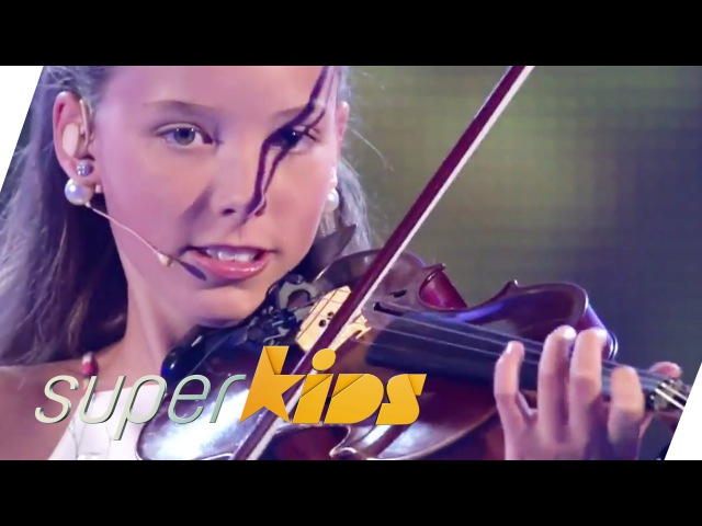 12 yrs old Violin Master Elena from Germany | Superkids