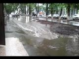 Самара 21.07.2015 тротуар у почтового отделения на Московском шоссе 4