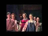 Народный хор училища им. Гнесиных на II Фольклорном фестивале студенческих коллективов, Москва, 1997