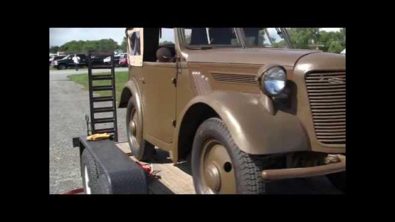 WWII Japanese Type 95 Kurogane 4X4 detil walk around video