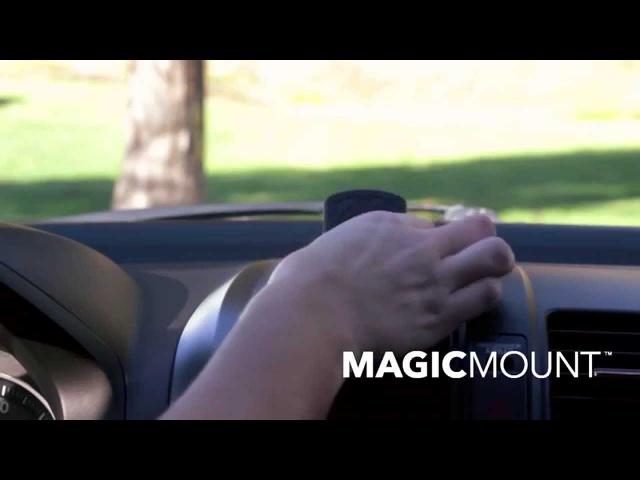 Держатель автомобильный магнитный Scosche Magic Mount Original на торпеду для телефона