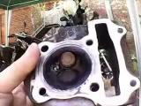 Как проверить головку цилиндра скутера 4т на течь клапанов