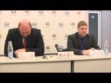 Пресс-конференция после матча Гомель-Витебск(5-2) 09.01.2015