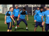 FC Barcelona training session: Recovery to prepare the visit to Getafe