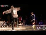 D Rock vs Beast Toprock Battle SF_2 Juste Debout 2013 Korea Allthatbreak.com