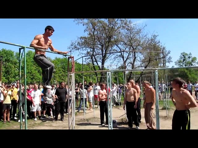 Соревнования Workout г Полтава 29 04 2012 1 ч