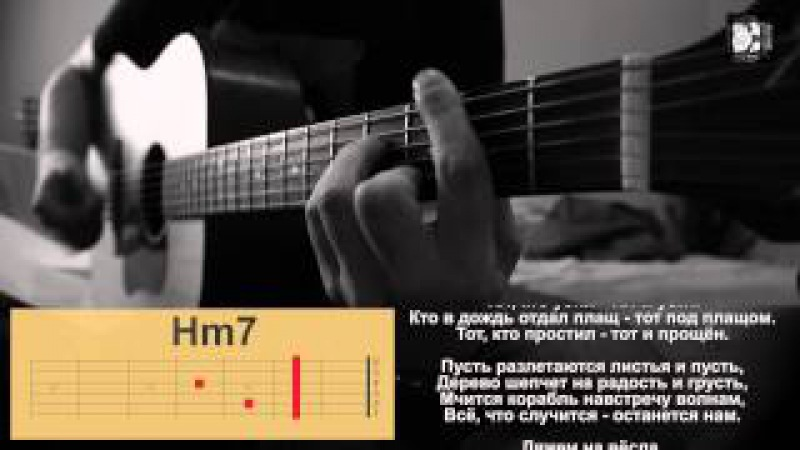 Сплин Рай в шалаше Как играть песню аккорды текст кавер Видеоурок на гитаре Табы разбор