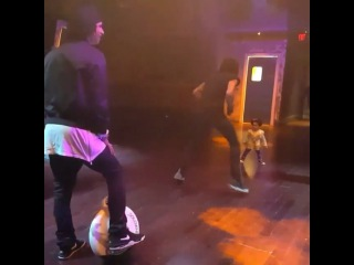 "💜Love_4_LesTwins💜 on Instagram: ""Larry @lestwinson and his #SoloWheel and Laurent @lestwinsoff playing with 1/2 of @twinducketts😍 video #repost from…"""