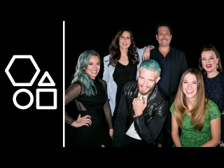 Hilary Duff, Darren Star and the Cast of Younger | AOL BUILD