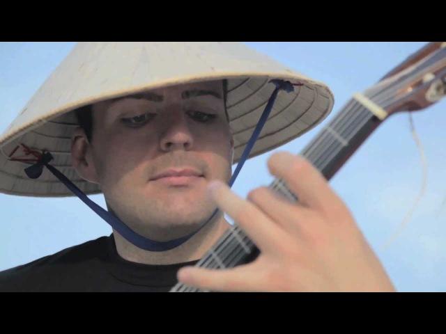 Ewan Dobson - Bonus Stage - Dental Floss Guitar! (HD)
