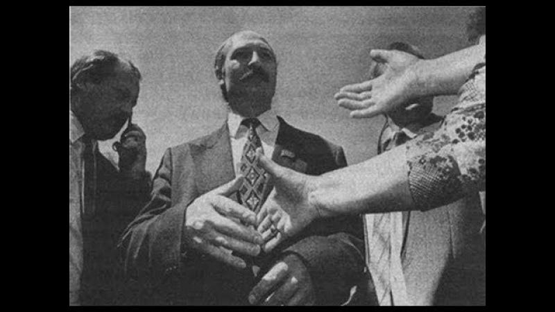 Лукашенко прощается с родным колхозом