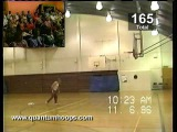 World Record 209 three pointers in a row by 60 year old man