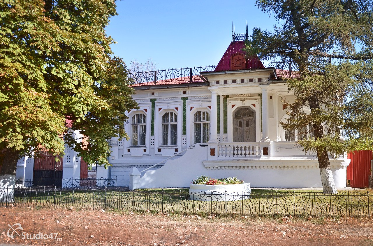 Галерея Шолохова в Борисоглебске
