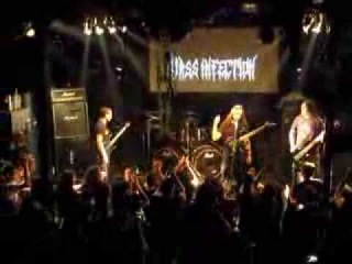 MASS INFECTION - Enslave The Earth (live @ 3rd Greek Death/Grind Scene Fest - 2014)