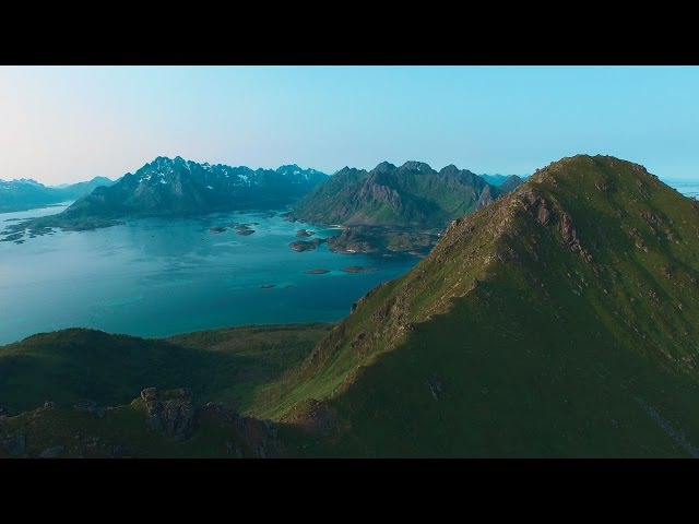 Norway, Lofoten islands, sea kayaking