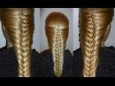 Французская коса-Оригинальная. Причёска для средних, длинных волос.Причёски для...