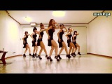 Waveya Sistar Alone dance tutorial 웨이브야 씨스타 나혼자