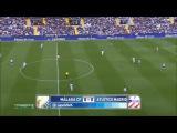 Малага - Атлетико М (Обзор матча)