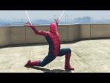 ЧЕЛОВЕК ПАУК В ГТА 5 (GTA 5 МОДЫ Смешные Моменты) / SPIDER MAN