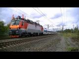 РЖД ЭП20-004 с поездом