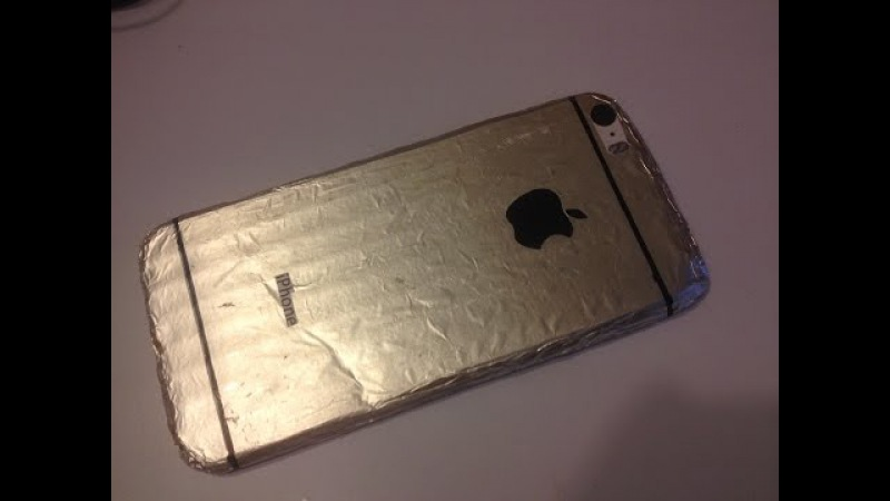 Как сделать чехол для iphone 5 s