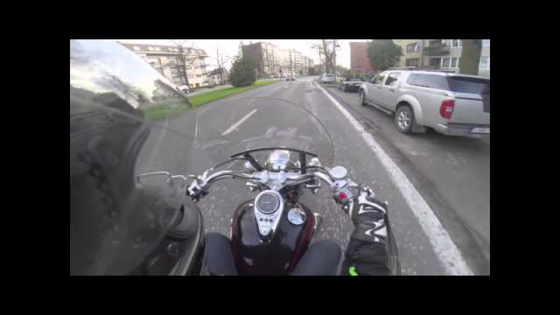 GoPro HD Hero 3 Black Edition Kawasaki VN 800 Vulcan