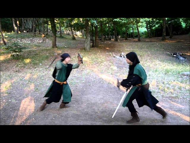 Ordine Del Lupo - Tecniche Di Scherma Medievale - Scrima