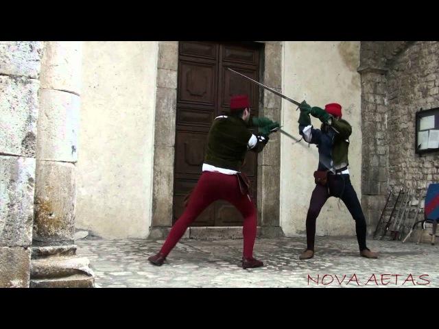 Nova Aetas Scrima - Tecniche di Combattimento