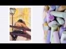 Видео урок Рисуем Масляной пастелью Картину Парочка Dari Art