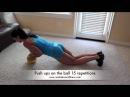 Home workout 2 with Sasha Brown Тренировка дома с Сашей Браун