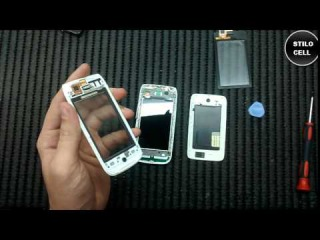 Nokia Asha 310 troca do touch como desmontar, exchange of touch how to disassemble