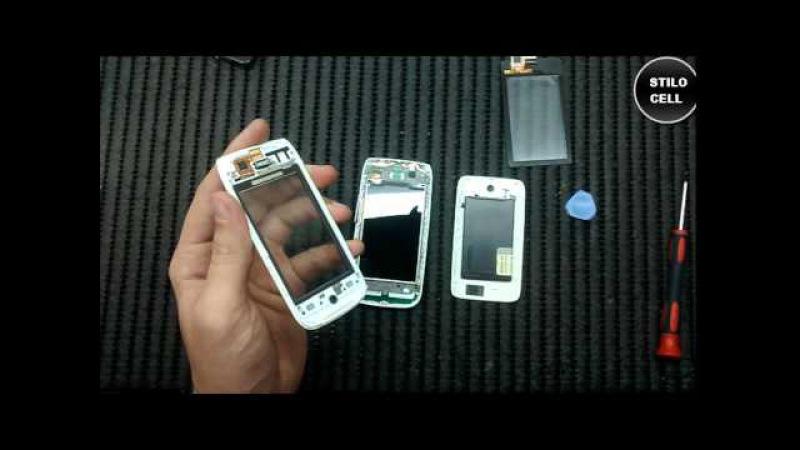 Nokia Asha 310 troca do touch como desmontar, exchange of touch how to disassemble