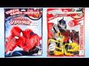 2 упаковки Трансформеры и Человек Паук сюрприз для детей