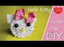 Hello Kitty Резинка для Волос How to Set Hair Elastics Hello Kitty Hobby DIY