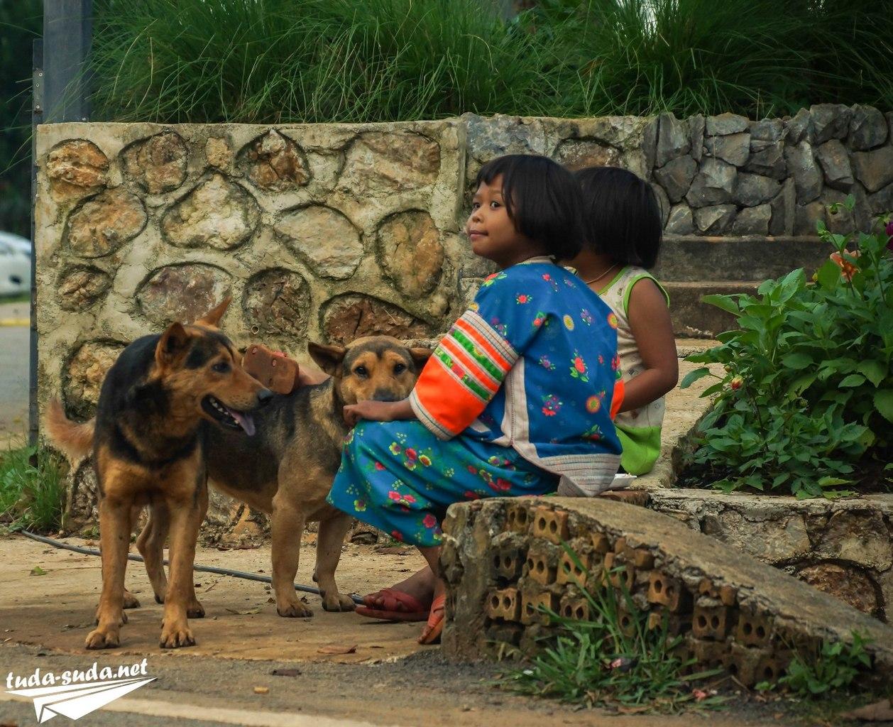 Дети в Таиланде