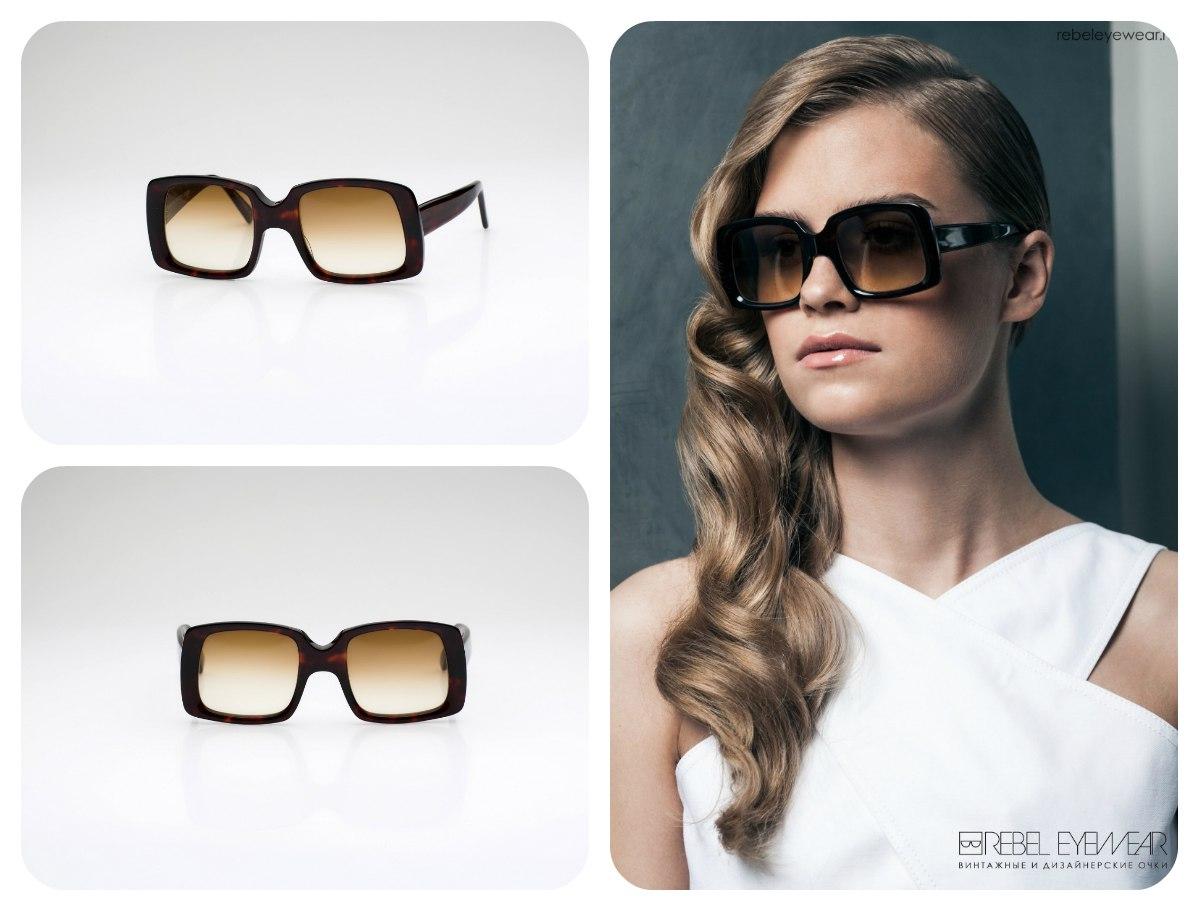 Подлинные винтажные очки Francois Pinton, выпущенные в 80-х